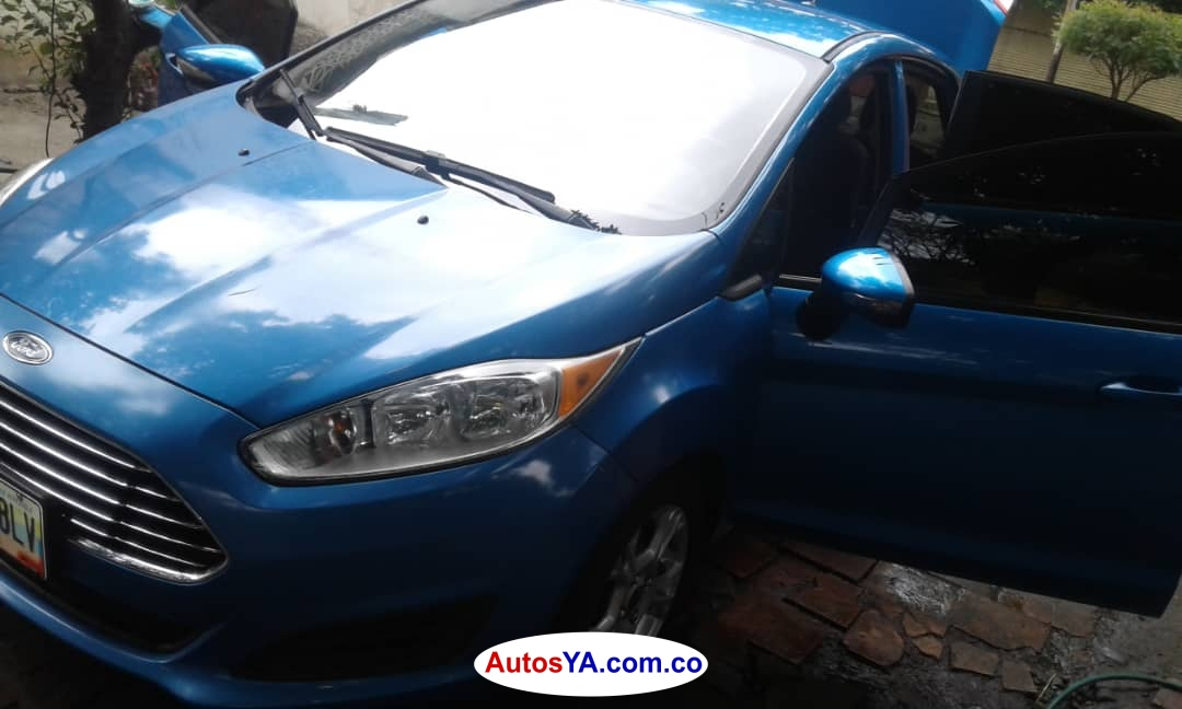 Fiesta titaniun 2014 Mec 51000 Ven 2