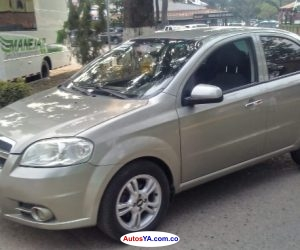 aveo emotion 2012 full equipo