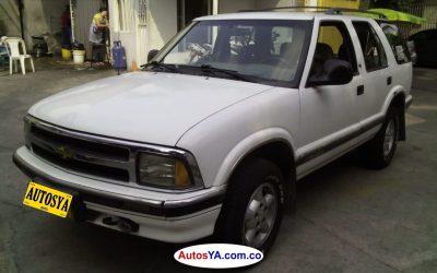 Blazer 4x4 1993 mec 150000 col(9) 15M
